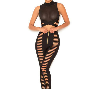 Two Piece Pants Set Outfit