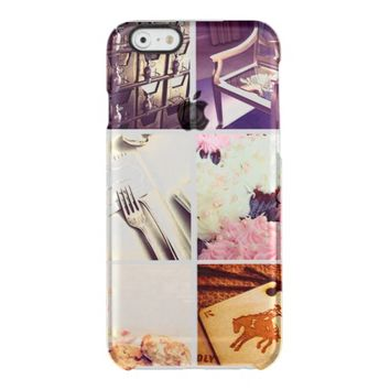 Custom Instagram Photo Collage Clear iPhone 6/6S Case