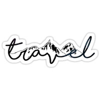 'TRAVEL' Sticker by lolosenese