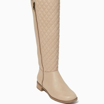 Lilah Quilted Boots | Shoes - Slope Style | charming charlie