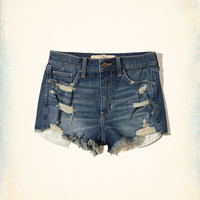Girls High-Rise Vintage Shorts | Girls Bottoms | HollisterCo.com