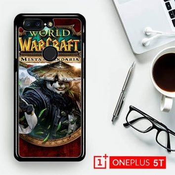 World Of Warcraft Guardian Druid Mists Of Pandaria Z0652  OnePLus 5T / One Plus 5T Case
