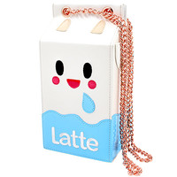 Buy Tokidoki Latte Milk Carton Handbag with Chain at ARTBOX