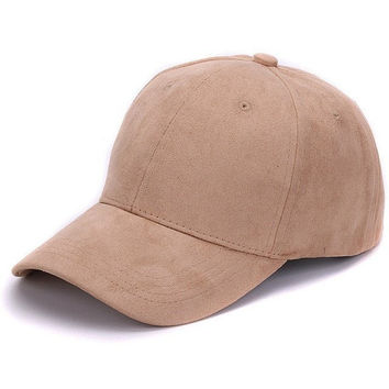 Plain Suede Hats