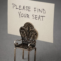 Have a Seat Place Card Holder