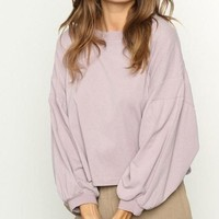 Benny Lilac Luxe Basic Knit