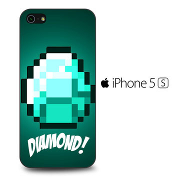 Diamond Minecraft iPhone 5[S] Case