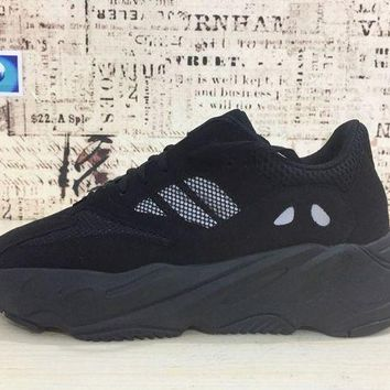 PEAP7 Adidas Yeezy Wave Runner 700 Triple Black Boost For Sale