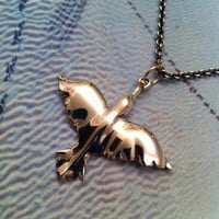 californication Dawn Bird st  silver & 18k by danaschneiderjewelry