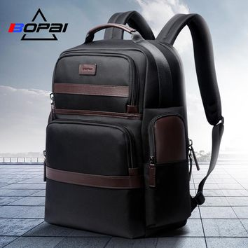 BOPAI Oxford Travel Laptop Men Backpack Casual Business Fashion Male Office Work Back Pack Bags Big School Backpack for Male