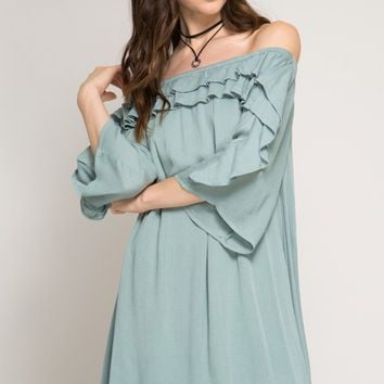Standout Off The Shoulder Dress