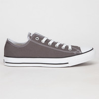 Converse Chuck Taylor All Star Low Mens Shoes Charcoal  In Sizes