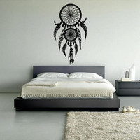 Wall Decal Vinyl Sticker Decals Dream Catcher Dreamcatcher Bedroom Symbol (z1345)