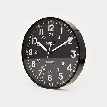 MWC US Military Pattern Wall Clock