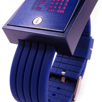 Click Wall Switch Watch -Blue