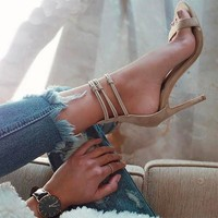 Kendall Strappy Heels