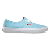 Vans Pop Authentic Mens Shoes Petit Four/Formula One  In Sizes