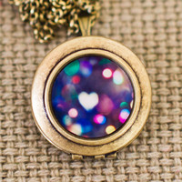 The Accidental Bokeh - Magical Photo Locket Necklace