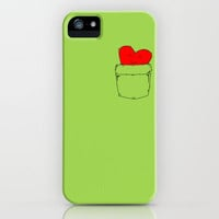 Pocket Love iPhone & iPod Case by DanielBergerDesign