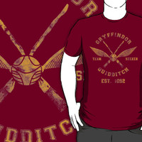 Abercrombie & Quidditch Harry Potter Shirt by spacemonkeydr