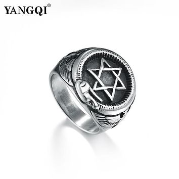 Magen Star of David Ring for Men