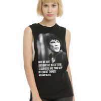 The 100 Bellamy Blake Quote Girls Muscle Top