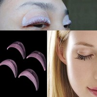 5 pairs 10pcsilicone durable eyelash permanent Perm Curler Curling Root Lifting False Fake Eyelash Shield Pad maquillaje patches