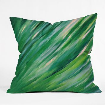 Rosie Brown Blades Of Grass Throw Pillow