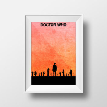 Doctor Who Poster, Davros, Season 9, Hand Mine, The Magician's Apprentice