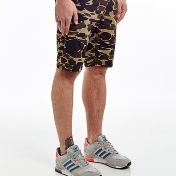 Carhartt Sid Shorts in Camo Isle Rinse - SALE | Shop for Men's clothing | The Idle Man
