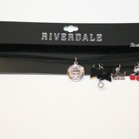 Licensed cool Riverdale Interchangeable Charm Pendant Choker Necklace Jughead Cherries Pearl