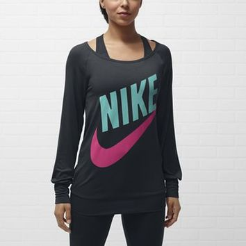 Check it out. I found this Nike Logo Long-Sleeve Women's Top at Nike online.