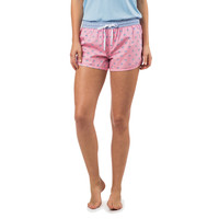 Women's Skipjack Lounge Short in Lemonade Pink by Southern Tide