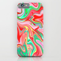 Summer Abstract2 iPhone & iPod Case by LEMAT WORKS