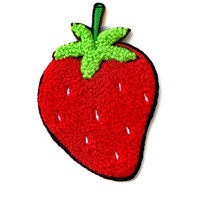 Strawberry Chenille Patch