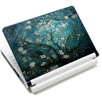 "Cherry tree 12"" 12.6"" 13"" 13.3"" 14"" 14.1"" 14.4"" 15"" 15.4"" Notebook Laptop Skin Netbook Sticker Cover Decel Protector NEK1215-19"