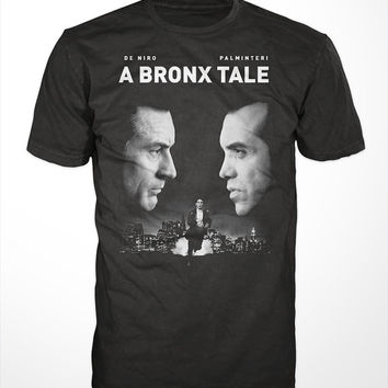 A Bronx Tale Movie T-Shirt - classic 90s mafia film tee shirt, robert de niro, chazz palminteri, the mob tshirt, gangster, new york, italian