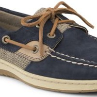 Sperry Top-Sider Bluefish Washable 2-Eye Boat Shoe Navy, Size 6M  Women's Shoes