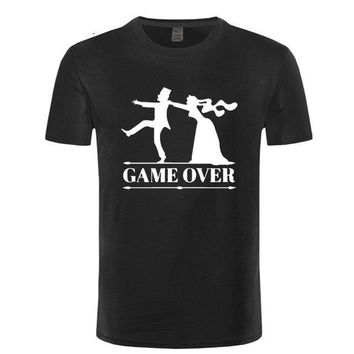 Game Over - Bachelor Party - Wedding t-shirt