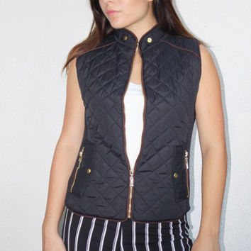 The Perfect Quilted Vest