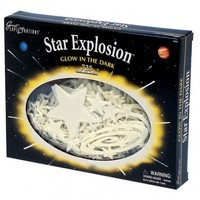 Star Explosion Glow In The Dark Set