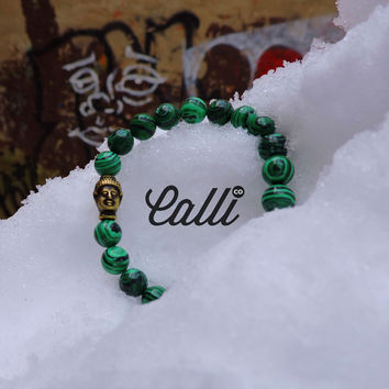Green Tea Malachite Bracelet