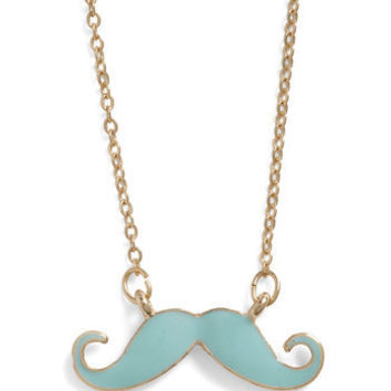 You Mustache Be Kidding Necklace | ModCloth.com