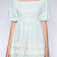 Floral Organza Pastel Dress - Shop the latest Fashion Trends