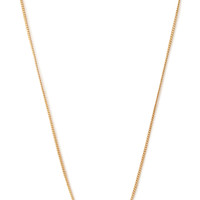 Cylinder Bar Necklace