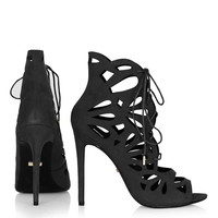 RAVISH Laser-Cut Sandals - Sandals - Shoes