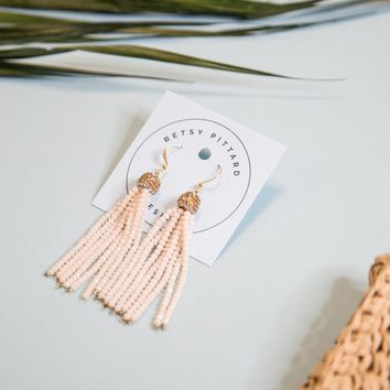 The Berkley Earring, Blush/Gold | BPD