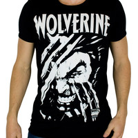 Marvel Comics mens T-shirt Wolverine