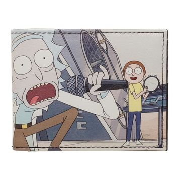 Rick and Morty Schwifty Rick and Morty BiFold Wallet Rick and Morty Accessories - Rick and Morty Wallet Rick and Morty Gift
