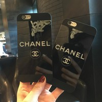 Tagre CHANEL iPhone Phone Cover Case For iphone 6 6s 6plus 6s-plus 7 7plus + best gift